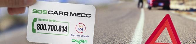 Oxygen Card - SOS CARR MECC