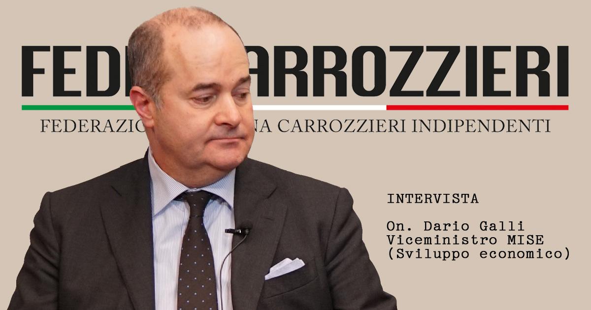 On. Dario Galli viceministro allo sviluppo economico