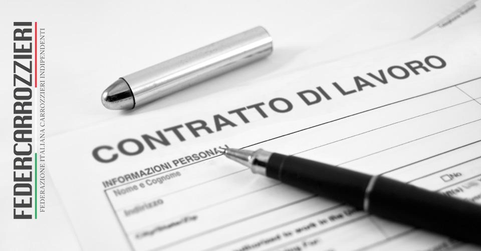 Contratti di lavoro nelle carrozzerie